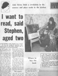 Stephen Uys - London newspaper clip